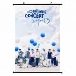 ไวนิลแขวนฝาผนัง (40x60cm) INFINITE Concert