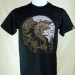 เสื้อลายไทย Linethai T-shirt จำหน่ายเสื้อลายไทย ลายสิงโตจีน (Line Chinese Lion)