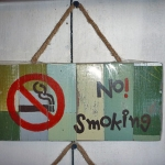 ป้ายห้ามสูบบุหรี่