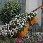 ไอเดียกระถางดอกไม้สวยๆแต่งสวนหน้าบ้านเล็กๆ