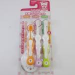 แปรงสีฟันเด็ก ยี่ห้อ Combi 3 STEPS (Step 1+2+3)