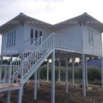 บ้านโมบาย ขนาด 6*7 เมตร 1ห้องนอน 1ห้องน้ำ 1ห้องรับเเขก