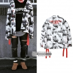 Jacket OFF-WHITE Abstract 2013 Pattern -ระบุไซต์-