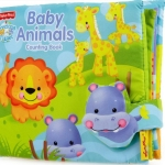 "หนังสือผ้า ""fisher price baby animals counting book"""