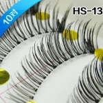 HS-13# ขนตาเอ้นใส (ขายปลีก) เเพ็คละ 10 คู่ ขายยกเเพ็ค