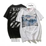 (งายป้าย) เสื้อยืด OFF-WHITE Off White Sea Wave Religion -ระบุสี/ไซต์-