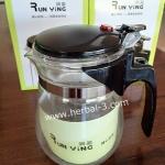 กาชงชาแบบกด ไส้กรอง (แบบใส) ขนาด 500 ml.