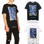 เสื้อยืด OFF-WHITE X VIRGIL ABLOH Diagonal Caravaggio-ระบุสี/ไซต์-