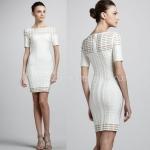 HV106 / Preorder Herve Legr Dress Style พรีออเดอร์เดรสไตล์ Hervr Leger เดรสผ้ายืด ใส่สวยเน้นรูปร่าง