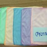ผ้าเช็ดหน้า นาโน สีพื้น เข้ม 25*25ซม โหลละ 45บาท ส่ง 250โหล