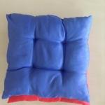 เบาะรองนั่ง ใหญ่ 18x18นิ้ว สีพื้น คละสี ใบละ 55 บาท (ส่ง 100ใบ)