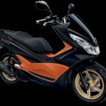 ชุดคอนโซล สีส้ม All new PCX 2017