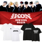 เสื้อยืด IKON NEW KIDS BEGIN MEMBER -ระบุสี/ไซต์/สมาชิก-