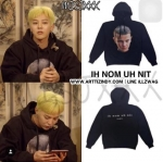Hoodie IH NOM UH NIT eleven in black Sty.G-Dragon *-ระบุไซต์-