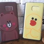 เคส Samsung Galaxy Note 5 :Line หมีบราวน์ และ แซลลี่ เคส ทำจากพลาสติคนิ่ม tpu ดีไซน์สวย จับถนัดมือ และใส่เคสได้สะดวกสบาย ปกป้อง Samsung Galaxy Note 5 ของคุณจากฝุ่นและ การขีดขูด