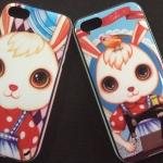เคส ไอโฟน iPhone 5C : Gi Gi Rabbit กระต่ายยอดฮิตจากเกาหลี