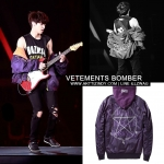 JACKET BOMBER VETEMENTS Tech Twill Sty.Chanyeol -ระบุไซต์/ไซต์-