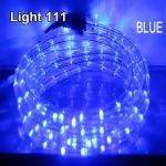 ไฟสายยาง LED (ท่อกลม) 10 m. สีฟ้า