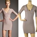 HV129 / Preorder Herve Leger Dress Style พรีออเดอร์เดรสไตล์ Hervr Leger