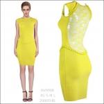 HV0908 / Preorder Herve Leger Dress Style พรีออเดอร์เดรสไตล์ Hervr Leger เดรสผ้ายืด ใส่สวยเน้นรูปร่าง แบบเก๋ทันสมัย สไตล์ดาราและเซเลบกำลัง HOT HIT
