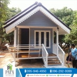 บ้านโมบายขนาด 3*6 เมตรระเบียง 1*3 เมตร (1 ห้องนอน 1 ห้องน้ำ)