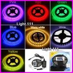 ไฟ LED เส้นริบบิ้น RGB Strip 5050 เปลี่ยนสีได้