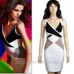 HV081 / Preorder Herve Legr Dress Style พรีออเดอร์เดรสไตล์ Hervr Leger เดรสผ้ายืด ใส่สวยเน้นรูปร่าง