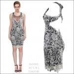 HV0905 / Preorder Herve Leger Dress Style พรีออเดอร์เดรสไตล์ Hervr Leger เดรสผ้ายืด ใส่สวยเน้นรูปร่าง แบบเก๋ทันสมัย สไตล์ดาราและเซเลบกำลัง HOT HIT
