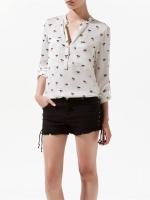 เสื้อเชิ้ต เสื้อแฟชั่น เสื้อทำงาน เสื้อเชิ้ตผู้หญิงทํางาน เสื้อเชิ้ต ผ้าชีฟอง แขนยาว สีขาว ดูดี (ใหม่ พร้อมส่ง) ร้าน LadyShop4U