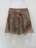 กระโปรง+กางเกง กระโปรงสั้น กระโปรงแฟชั่น กางเกงกระโปรง กระโปรงกางเกง กระโปรงทำงาน ลายเสือ กางเกงด้านในสีดำ สวย ดูดี (ใหม่ พร้อมส่ง) LadyShop4U