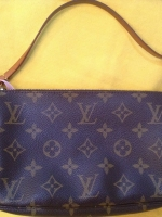Used Lv Pochette monogram