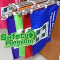ร้านร้านธง.com : Safety Flag จำหน่าย ธง Safety, ธงอพยพหนีไฟ, ธงนำทางอพยพหนีไฟ
