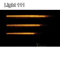 ไฟดาวตก LED 80 cm. สีเหลือง (ไฟฝนดาวตก)