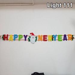 ป้ายแขวง Happy new year