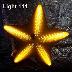 ไฟประดับ ไฟดาวใหญ่ สีเหลือง cl-024