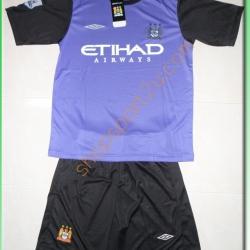 ชุดทีมเยือน Manchester City 3rd 2012 - 2013