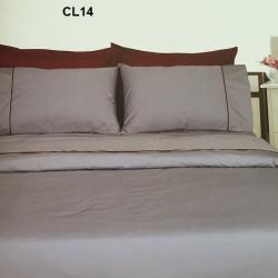 ผ้าปูที่นอน รัดมุม10นิ้ว ผ้าCVC250เส้นด้าย มี 18สี 5/ 6 ฟุต 1ชิ้น ผืนละ 470 บาท ส่ง 20ผืน