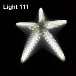 ไฟประดับ ไฟดาวใหญ่ สีขาว cl-022
