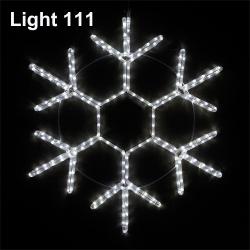Snowflake LED 50 cm. ( w ) cl-017