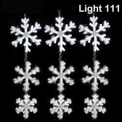 โฟม เกล็ดหิมะ 3 ชั้น (กากเพชร) cl-507