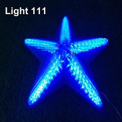 ไฟประดับ ไฟดาวใหญ่ สีฟ้า cl-023