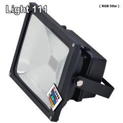สปอร์ตไลท์ LED 50 w (RGB) เปลี่ยนสีได้