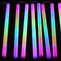 ไฟแท่ง LED 7 สี หลอดขุ่น (ยาว 1 ม.)