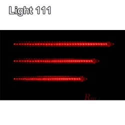 ไฟดาวตก LED 80 cm. สีแดง (ไฟฝนดาวตก)