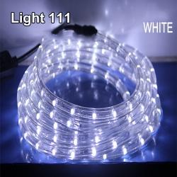 ไฟสายยาง LED (ท่อกลม) 10 m. สีขาว