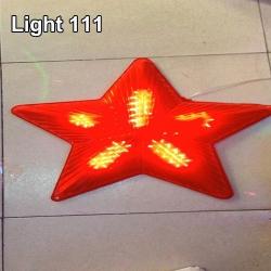 ไฟประดับ ไฟดาวใหญ่ สีแดง cl-021