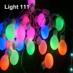 ไฟปิงปอง 20 led สีรวมcl-033