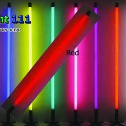 ไฟงานวัด LED สีแดง (ไฟนิ่งไม่กระพริบ), หลอด T8 สี