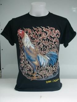 เสื้อลายไก่ ไก่ชน ไก่ไทย
