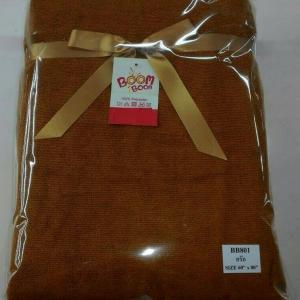 ผ้าห่มขนหนู 5ฟุต สีกรัก ผืนละ 145 บาท ส่ง 72 ผืน (โพลีเอสเตอร์100%)